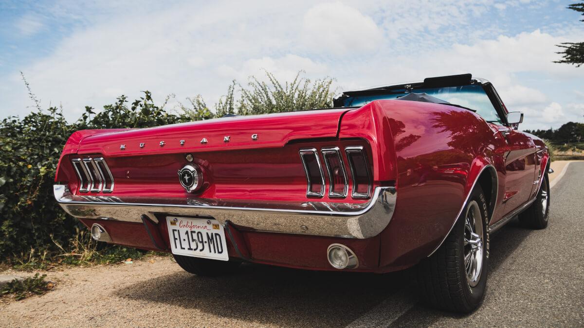 klassiska amerikanska bilar